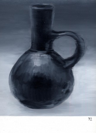 Number 72 – Miniature Black-ware Short-Necked Jar