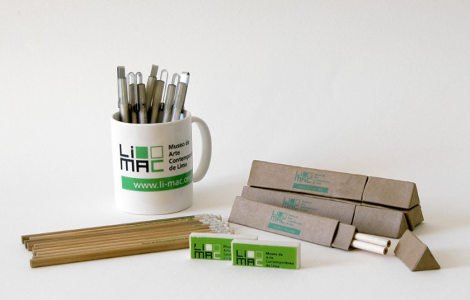Pencils and LiMAC Mugs