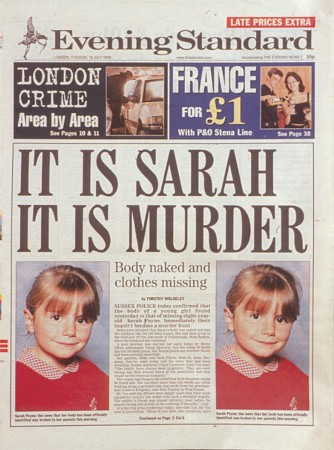 Newspaper – It is Sarah, It is Murder